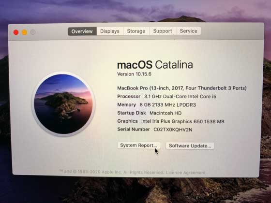 check cycle count macbook pro